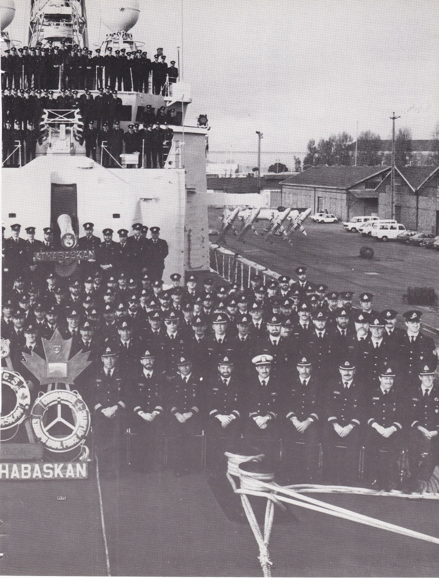 HMCS ATHABASKAN SNFL 1983 - PAGE 7