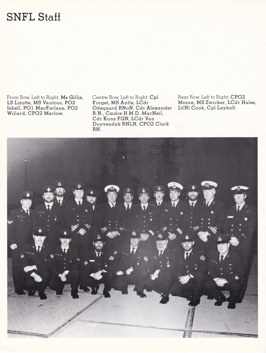 HMCS ATHABASKAN SNFL 1983 - PAGE 14