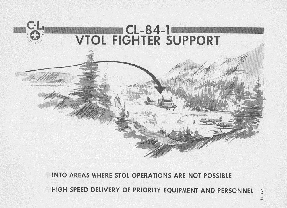 CANADAIR CL-84-1 V/STOL AIRCRAFT PRESENTATION PAGE 9