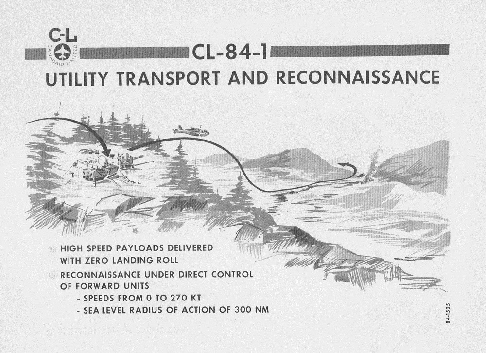 CANADAIR CL-84-1 V/STOL AIRCRAFT PRESENTATION PAGE 10