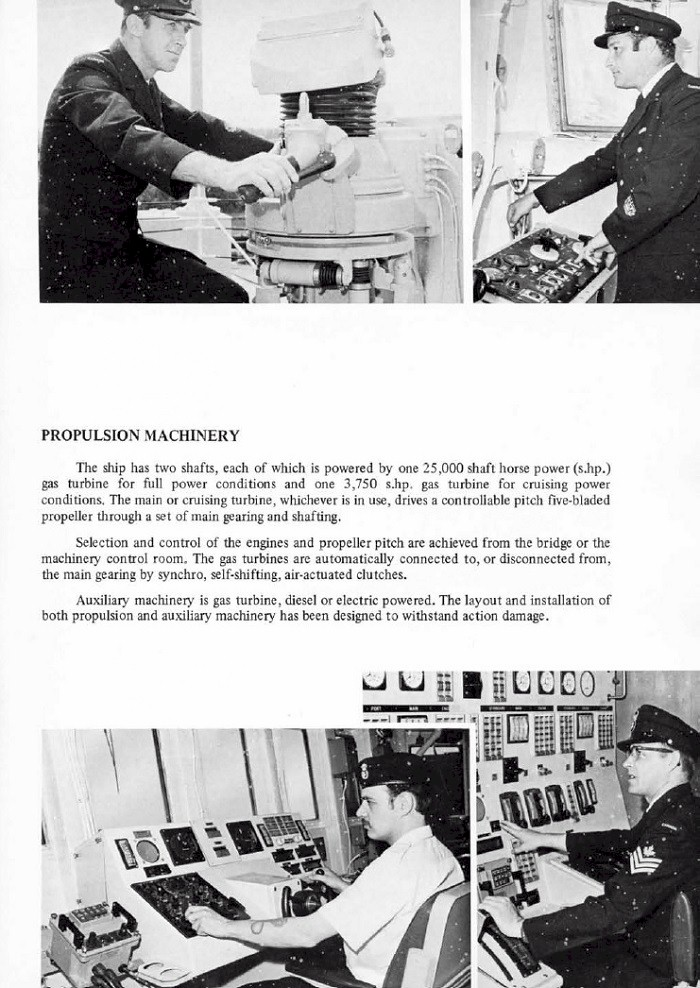 HMCS IROQUOIS 280 COMMISSIONING BOOKLET - PAGE 7