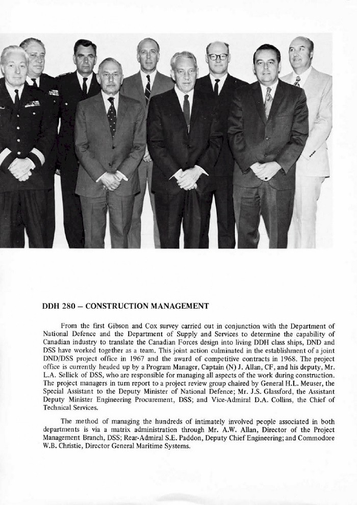 HMCS IROQUOIS 280 COMMISSIONING BOOKLET - PAGE 16