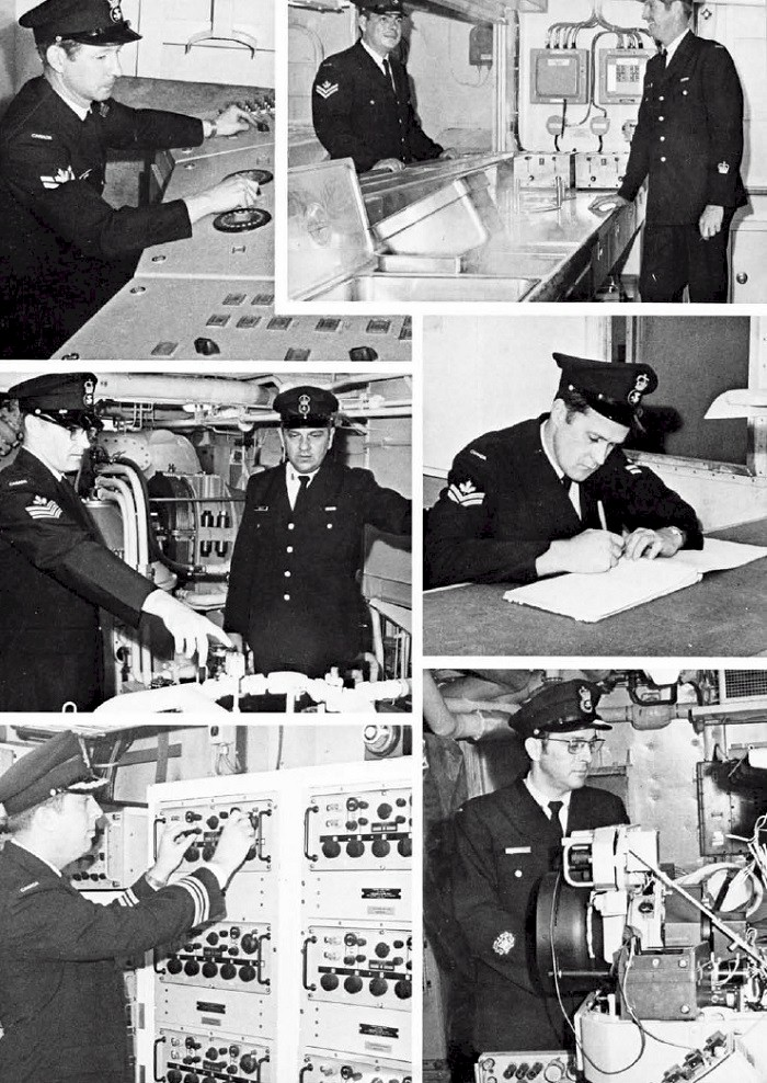 HMCS IROQUOIS 280 COMMISSIONING BOOKLET - PAGE 20