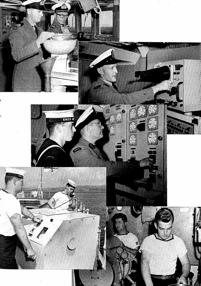 HMCS MACKENZIE 261 Commissioning Booklet - Page 15