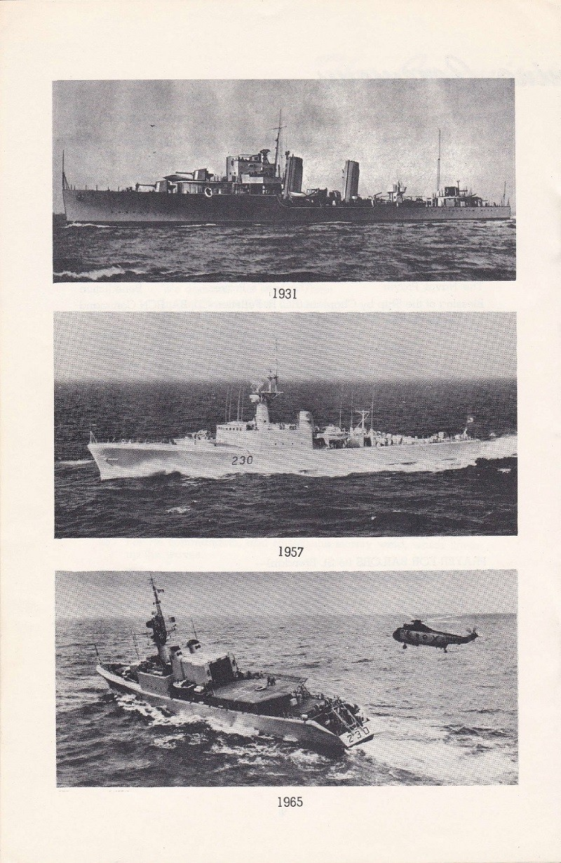 HMCS MARGAREE COMMISSIONING BOOKLET - PAGE 10