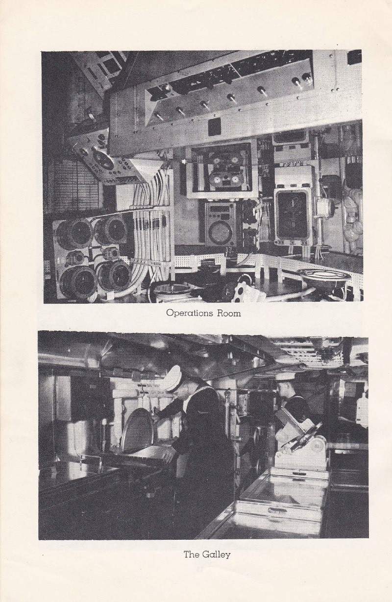 HMCS MARGAREE COMMISSIONING BOOKLET - PAGE 12