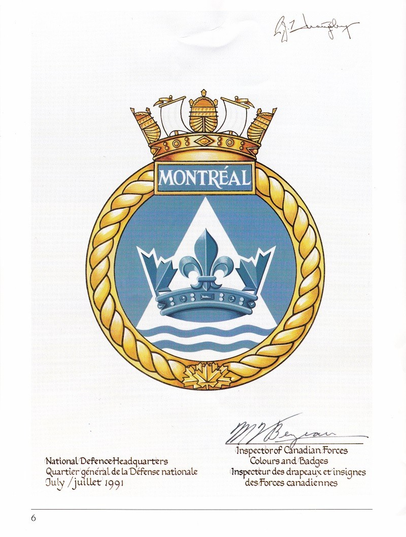 HMCS MONTREAL 336 - COMMISSIONING BOOK - Page 6