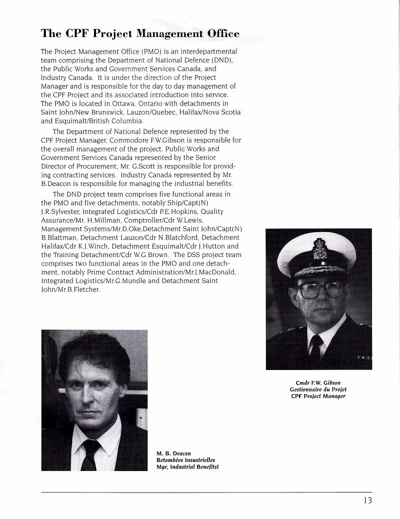 HMCS MONTREAL 336 - COMMISSIONING BOOK - Page 13