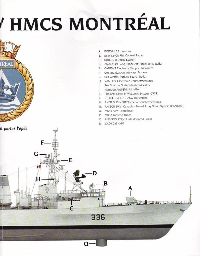HMCS MONTREAL 336 - COMMISSIONING BOOK - Page 15