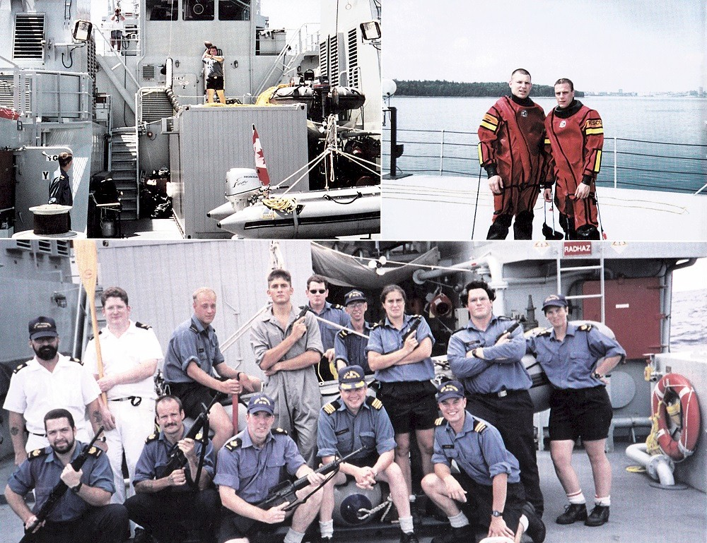 HMCS WHITEHORSE 705 COMMISSIONING BOOKLET - Page 12